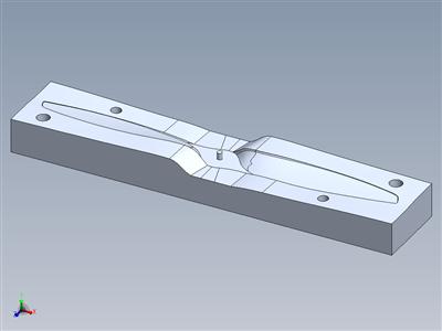 钢筋混凝土飞机支柱和模具