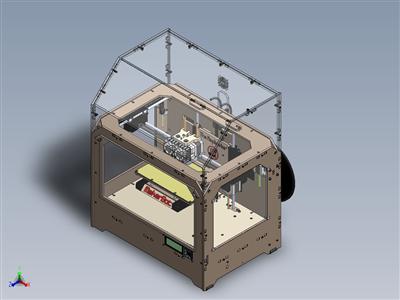 S2 3D打印机详细设计图