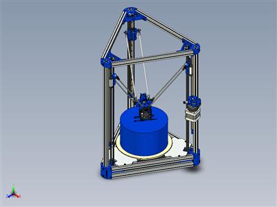 Kossel(Ver.Bettak)-Delta Robot 3D打印机