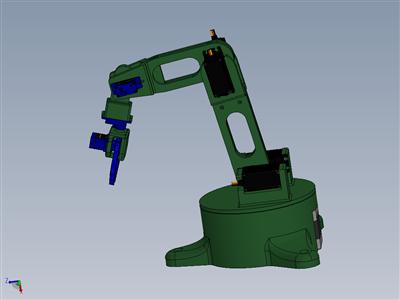 带夹持器的3D打印机械臂