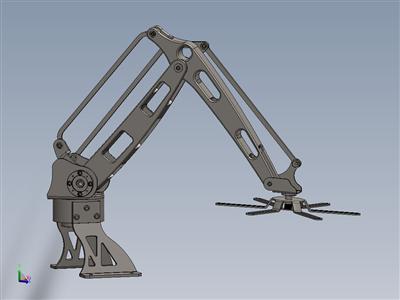 码垛机械臂 3D模型
