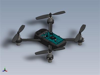 3D打印无人机机身