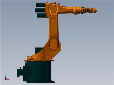 D25 KR6机械臂 3D模型
