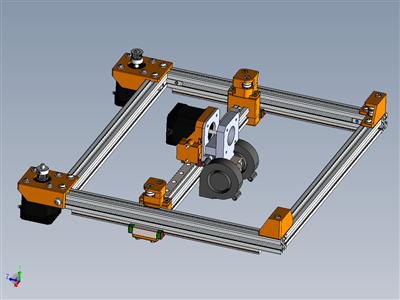 使用Anet A8电子设备的Corexy 3D打印机