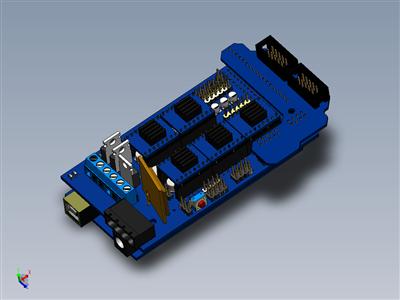 Gadgets 3D打印机的电子设备