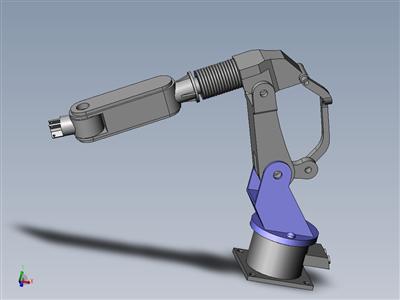 工业机械臂 3D模型