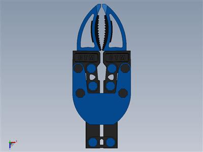 用于3D打印的机器人夹具