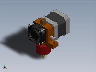 挤出机3D打印机