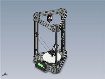 Kossel-Delta机器人3D打印机