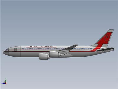波音707从飞机