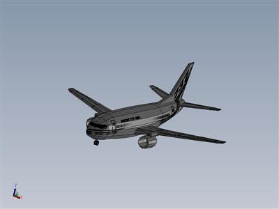 波音737-300,飞机