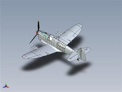 Fairey萤火虫飞机WW2