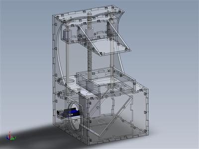 BeamMaker SLA 3D打印机,开源