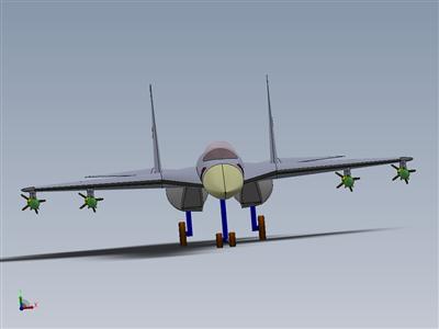 飞机:Sukhoi SU-30MKI