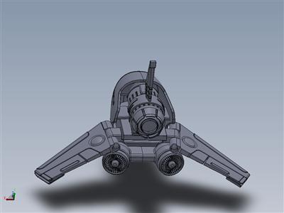 喷气式无人飞机