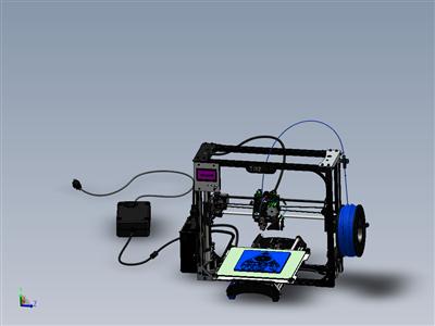Lulzbot Taz 4 3D打印机!