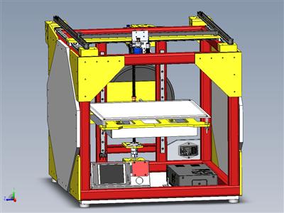 3D打印机金属机器人