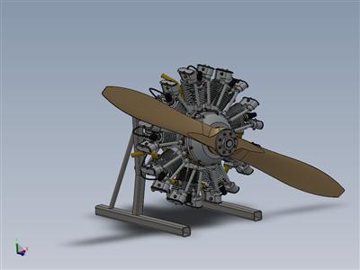 Olsryd 9缸径向发动机