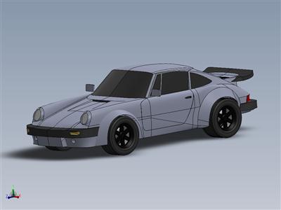 保时捷911涡轮增压 S 3。3