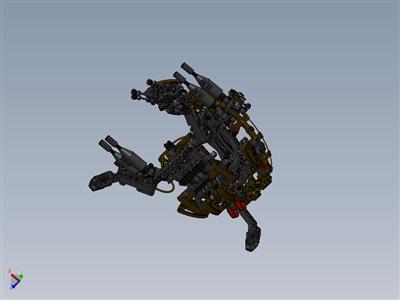 乐高星球大战驱逐舰机器人