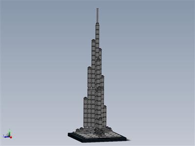 乐高套装21008 Burj Khalifa