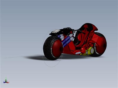 卡内达的自行车阿基拉摩托车