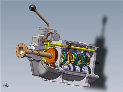 变速箱菲亚特 131 (5 速 + 反向)
