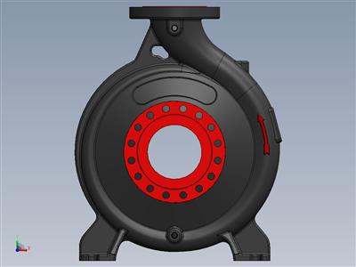 端吸离心泵容积套管