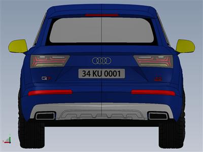 奥迪 Q7 V6 3.0 TDI(2015) 外观设计