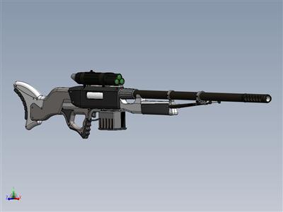星球大战自定义狙击手步枪