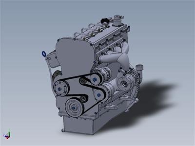 GSwirl 200 Cr 涡轮增压柴油发动机
