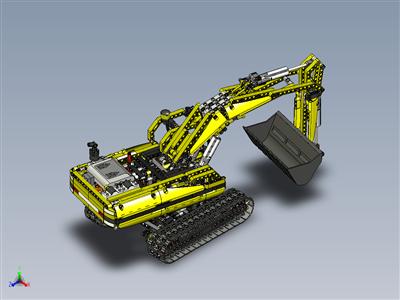 乐高科技-电动挖掘机