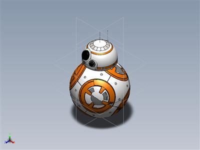 星球大战 BB8 球机器人