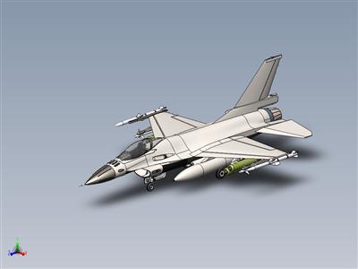 F-16喷气式飞机后丹·拉瓦伊教程
