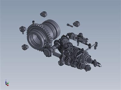 BHF1 变速箱设计由奇卡埃达