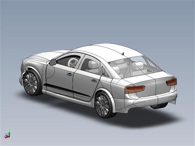 奥迪A6 2012车型