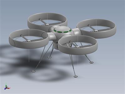 大型遥控四架无人机