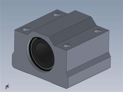 铝 SCS12U Lm12 线性运动球轴承 Cnc 滑块衬套-Rolamento 线性12毫米 com mancal