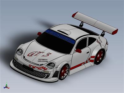 保时捷 911 gt3 2010