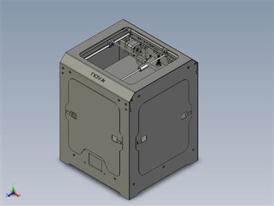 Nova 多功能 Machine(3D 打印机激光雕刻机)