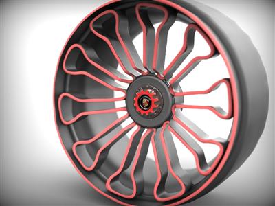 2015保时捷918轮圈