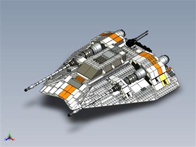 乐高星球大战 UCS 起义军雪车 (10129)