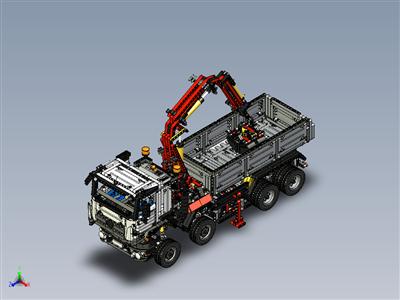 乐高科技-梅赛德斯-奔驰阿罗克斯 3245 (42043)