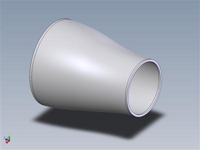 管道减速器 - 同心 - 拟合焊接 - ASTM A403(配置)
