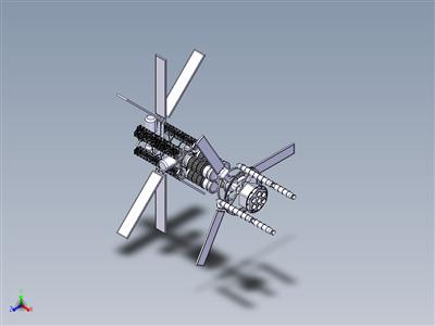 空间站-航天飞机码头总成