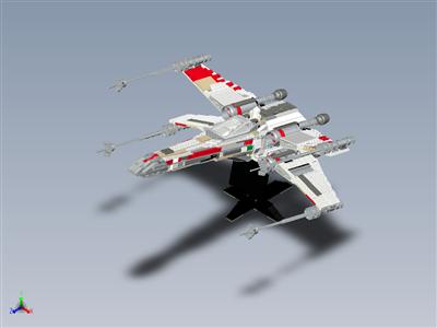 乐高星球大战 UCS x 翼战斗机 (7191)