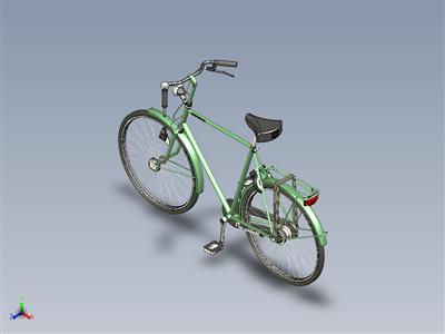 马累城市自行车