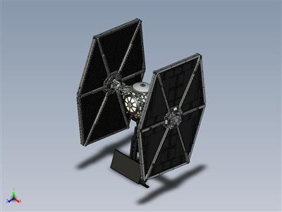 乐高星球大战-UCS TIE 战斗机 (75095)