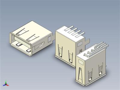 USB 类型 -A 型母机箱