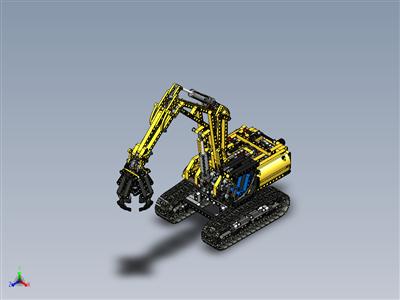 乐高科技-挖掘机 (42006)